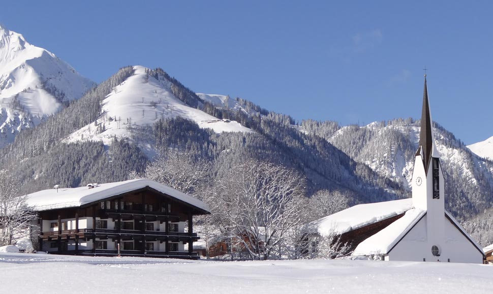 Pertisau im Winter